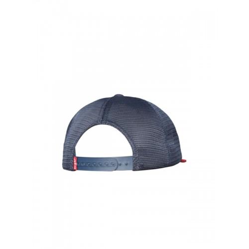 0b707dd45 Buy Levis Men Off-White & Navy Blue Colourblocked Baseball Cap ...