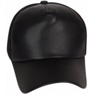 ILU ILU caps black leather, Baseball, caps, Hip Hop Caps, men, women, girls, boys, Snapback, Trucker, Hats cotton caps Cap Cap