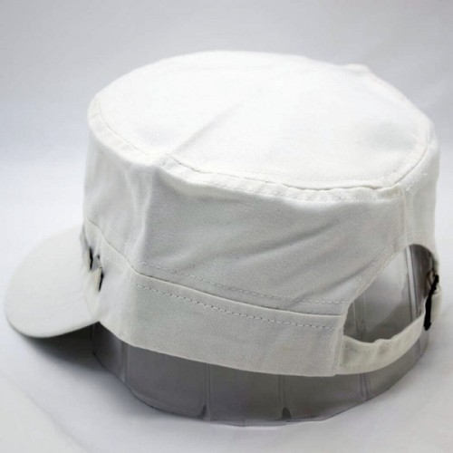 890abbf054f ... Friendskart Solid Solid Adjustable Men Women Unisex Flat Roof Military  Army Hat Baseball Cap Cap Cap ...