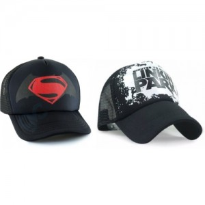 fb1bb5ff89c GVC Printed Set of 2 Half Net Cap - Baseball Style Cap For Boys And Girls