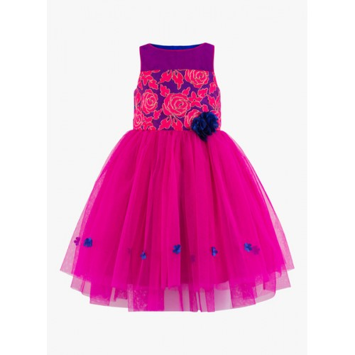 Toy Balloon Kids Pink Party Dress