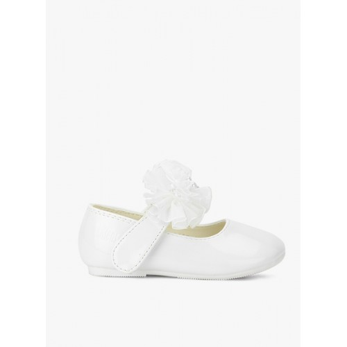 Kittens White Mary Jane Belly Shoes