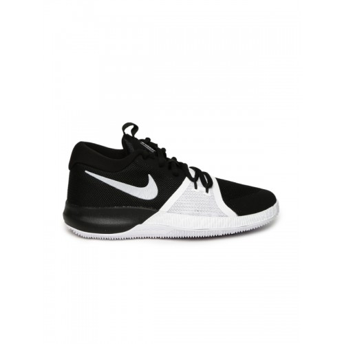 Nike Boys Black ZOOM ASSERSION (GS) Basketball Shoes