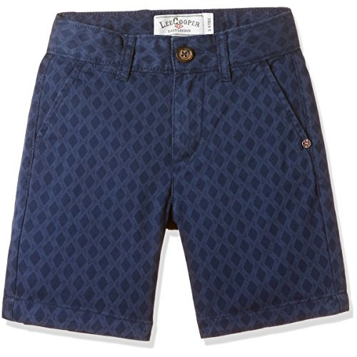 Lee Cooper Navy Blue Boys' Shorts
