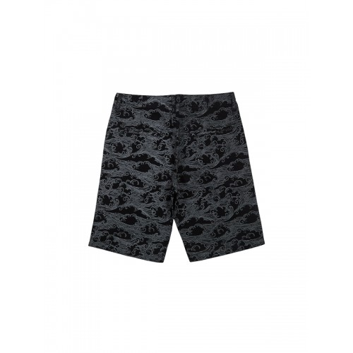 Gini and Jony Black Printed Regular Fit Shorts