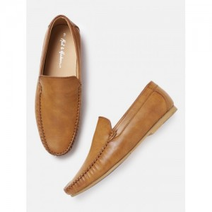 Mast & Harbour Men Tan Brown Loafers