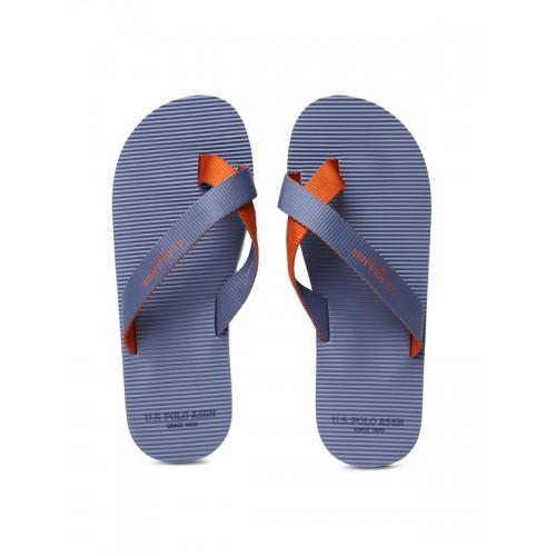 83400fc64bafb Buy U.S. Polo Assn. Men Blue Jackson Flip-Flops online
