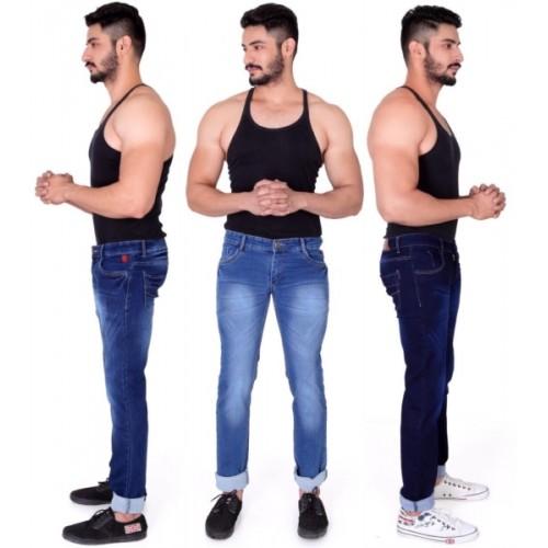 Ragzo Slim Men Multicolor Jeans