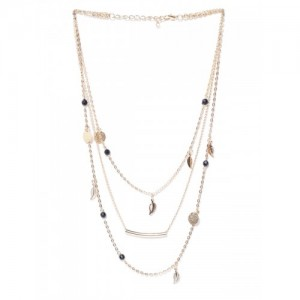 OOMPH Gold-Toned Metal Layered Necklace