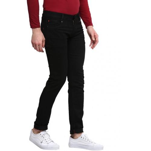 1b9c59f719b6 Buy Urbano Fashion Men'S Black Slim Fit Stretch Jeans online ...