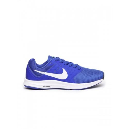 ... Nike Men Blue Downshifter 7 Running Shoes ...