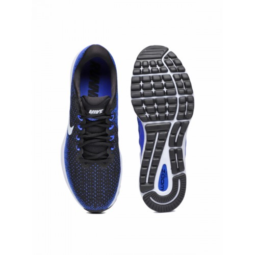 37a11442c1f Buy Nike Air Zoom Vomero 13 Black Running Shoes online