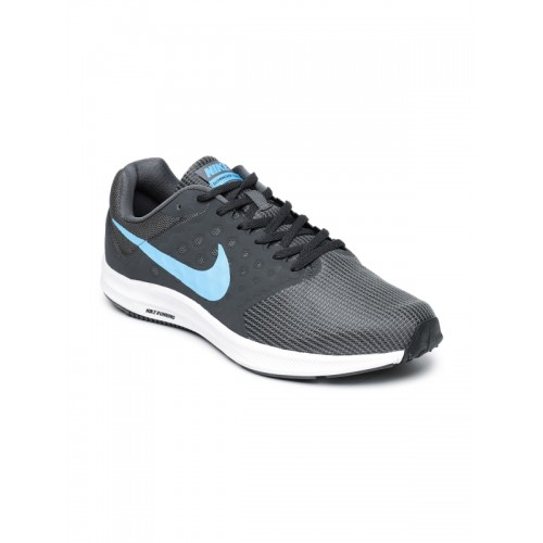 Nike Downshifter 7 Charcoal Black Running Shoes