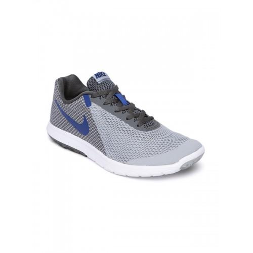 f4aeefb964b6 Buy Nike Men Grey FLEX EXPERIENCE RN 6 Running Shoes online ...