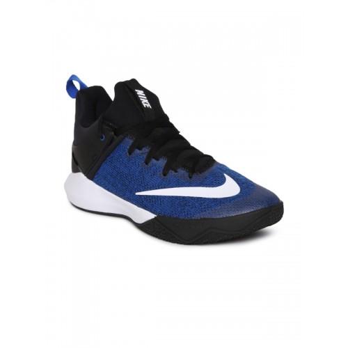 47a9f5704c6518 ... promo code nike men blue zoom shift basketball shoes d2057 b7bf2