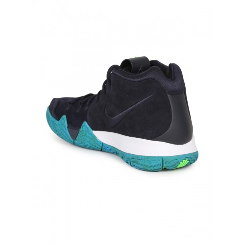 best sneakers 1ac48 96fc3 Buy Nike Men Black Leather Kyrie 4 Basketball Shoes online ...