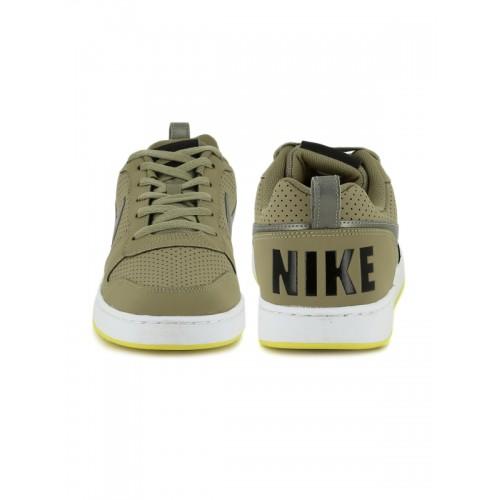 Buy Nike Men COURT Khaki Sneakers