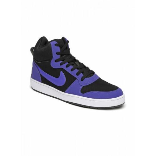 Nike Court Borough Mid Black Sneakers