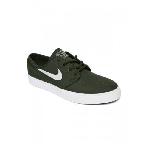 superior quality 19e5b 3d6ea Buy Nike Men Olive Green ZOOM STEFAN JANOSKI Skate Shoes online ...