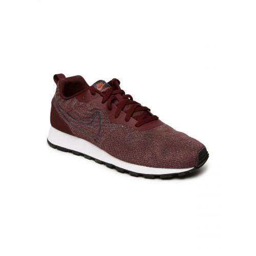nueva llegada Donde comprar buena reputación Buy Nike Md Runner 2 Eng Mesh Maroon Sneakers online ...