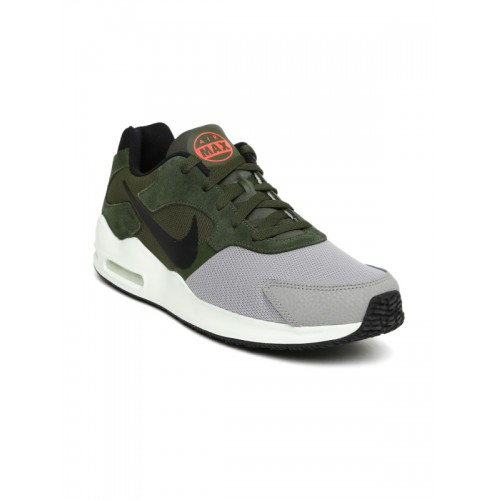 huge selection of bed80 33e62 hot nike air max guile mens grey red a9af7 84ce0