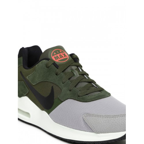 9e68414f45e9 ... wholesale nike men grey olive green air max guile sneakers 7dce2 16d5f