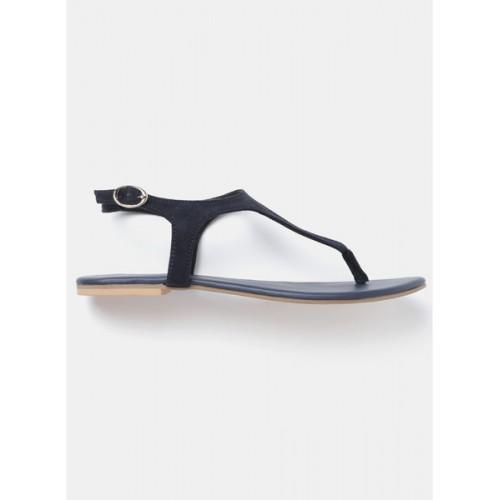Dressberry Navy Blue Sandals
