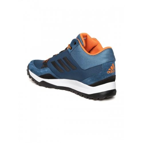 Adidas Men Teal Blue Hampta Sports Shoes