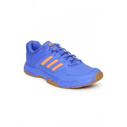 7687363185affe Buy Adidas Men Blue QUICKFORCE 3.1 Badminton Shoes online ...