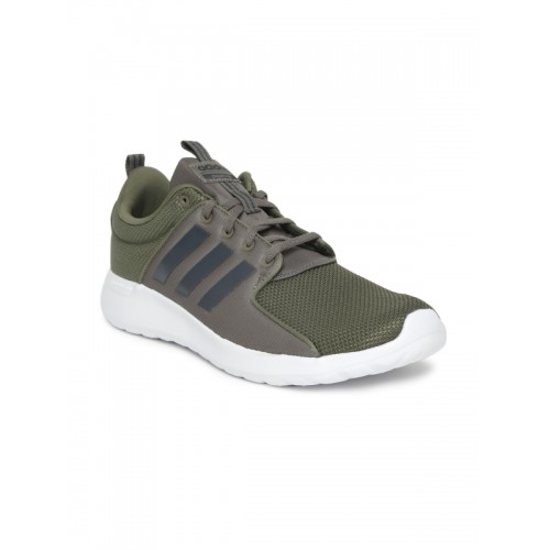 Buy Adidas Men Olive Green CF Lite Racer Running Shoes online ... 292f4a400