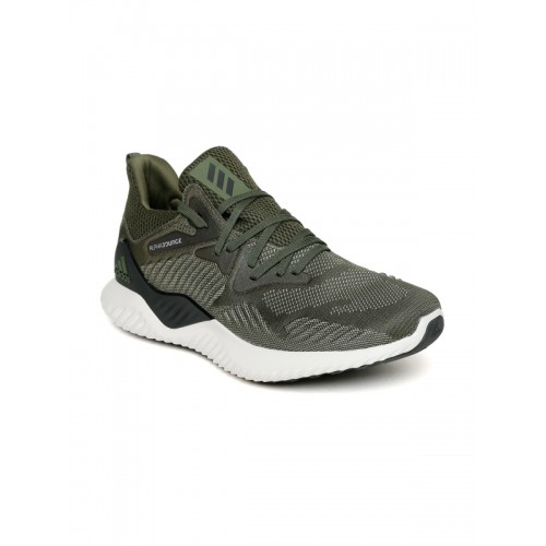 07995dd821e33 Buy Adidas Men Olive Green ALPHABOUNCE BEYOND Running Shoes online ...