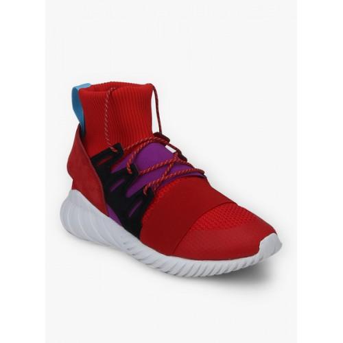 online retailer bd5a3 82ad7 Buy Adidas Originals Men Red TUBULAR DOOM WINTER Sneakers ...