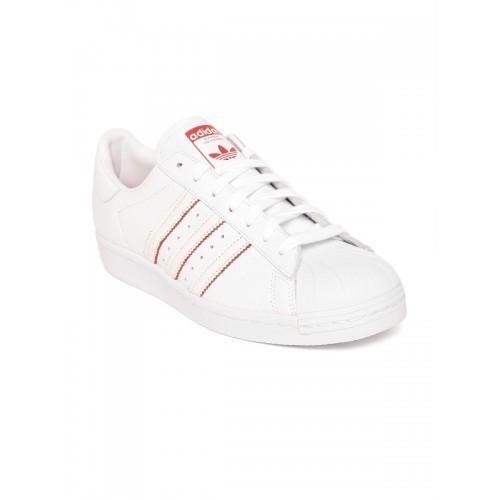 huge discount 19223 188f6 Buy Adidas Originals Men White Superstar 80S CNY Leather ...