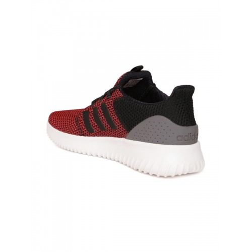 Buy Adidas NEO Men Pink   Black CLOUDFOAM ULTIMATE Sneakers online ... 969a74f11
