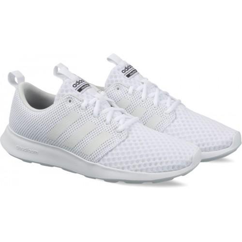 f6b56fa0359 Buy Adidas Men White Cloudfoam Swift Racer Shoes online