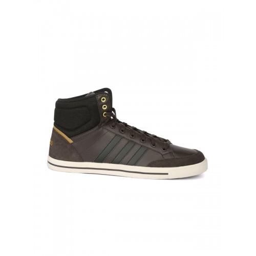 Buy Adidas NEO Men Brown Cacity Mid