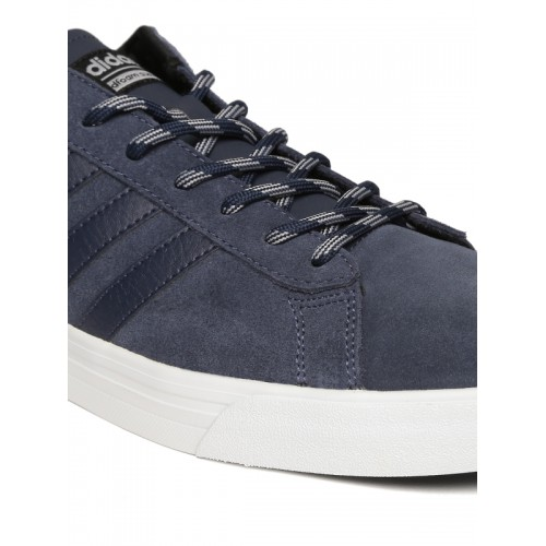 discount adidas neo daily navy blue sneakers 2eb8c c70d5
