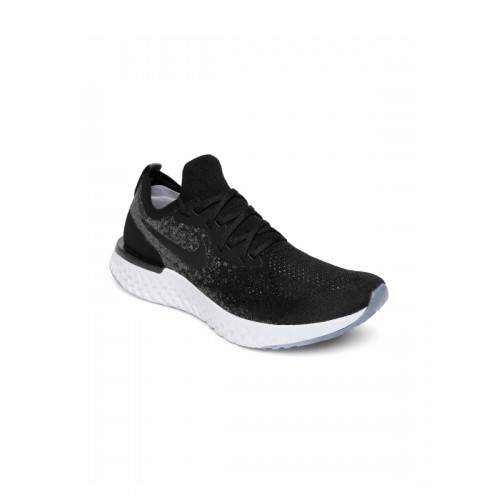 Buy Nike Epic React Flyknit Black Running Shoes Online