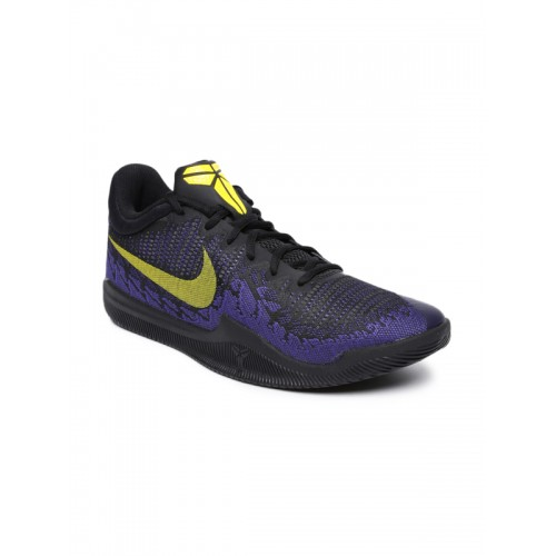 Nike Men Purple MAMBA RAGE Basketball Shoes
