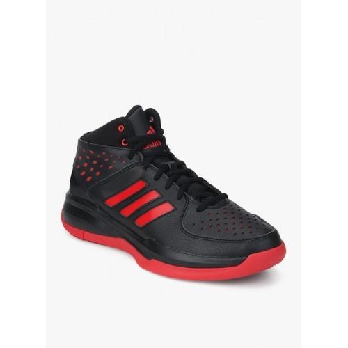 Adidas Court Fury Black Basketball Shoes