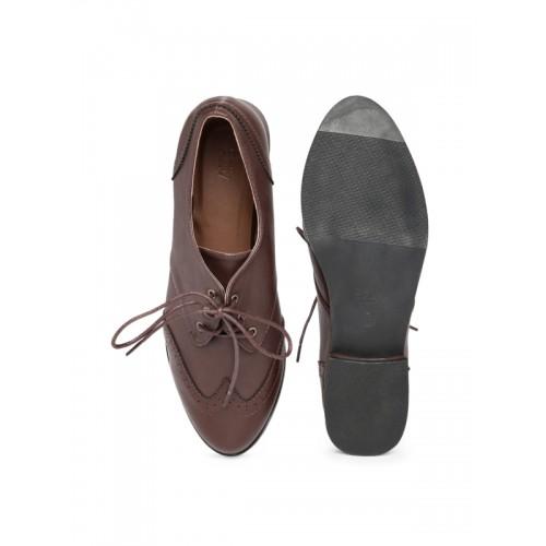 9442e0ffa3c Buy Allen Solly Solid Brown Formal Women Shoes online