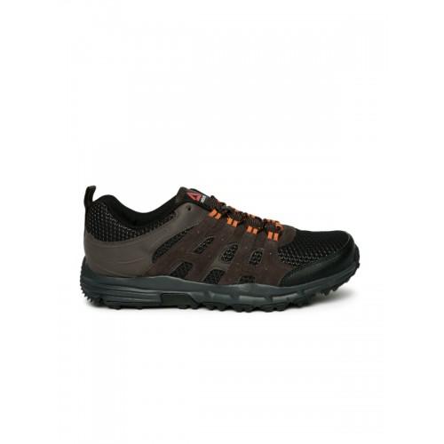 d21a71a4f06cf5 Buy Reebok Men Brown ADVENTURE VOYAGER Trekking Shoes online ...