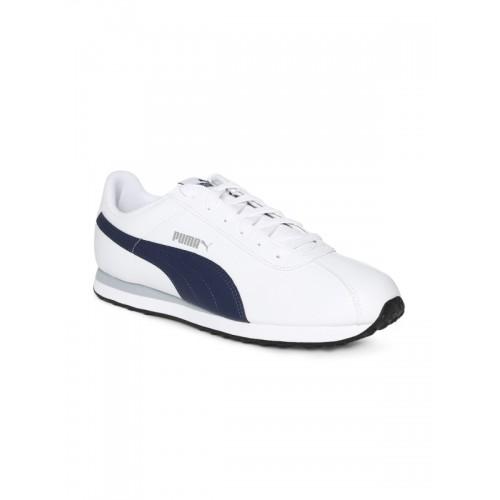 Puma Turin White Sneakers For Men