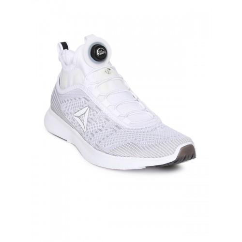 c8b4f064f735 Buy Reebok Men Grey   White PUMP PLUS ULTK Running Shoes online ...