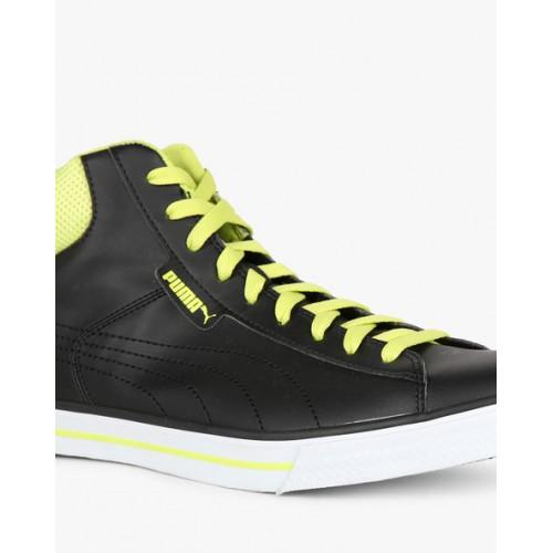 Puma Salz Mid Dp Black Sneakers