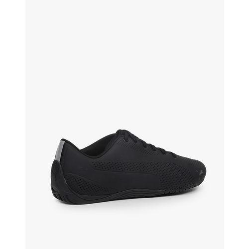ae1e296c91717f Buy Puma Unisex Black Perforated Drift Cat Ultra Reflective Sneakers ...