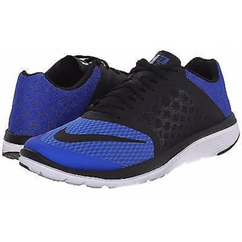 new concept b18fb ffc8d Buy Nike Men'S Fs Lite Run 3 Blue And Black Running Shoes ...