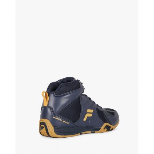 FILA Dynamo High-Top Panelled Sneakers
