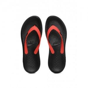 7a56b59fe748c9 Buy Woodland Men Grey   White Fabric Printed Flip-Flops online ...