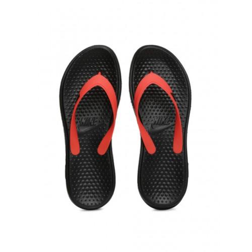251cb367af6 Buy Nike Men Red   Black Solay Thong Flip-Flops online